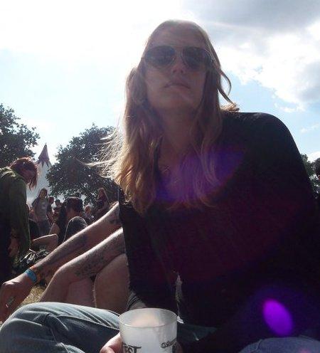 Ich beim Hellfest in Frankreich