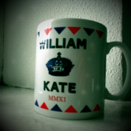 William &amp; Kate Tasse