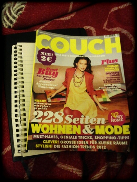 Couch Magazin Cover Januar 2012