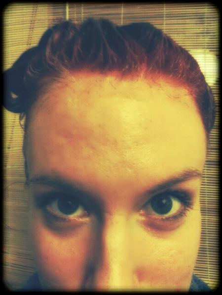 Haare faerben