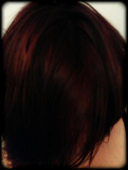 Haarfarbe Mahagoni