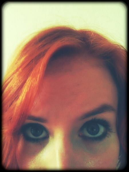 Orange Haare
