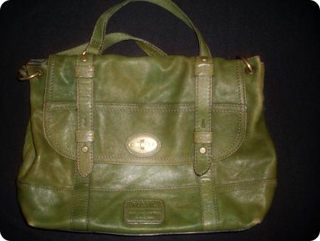 Grüne Tasche von Fossil