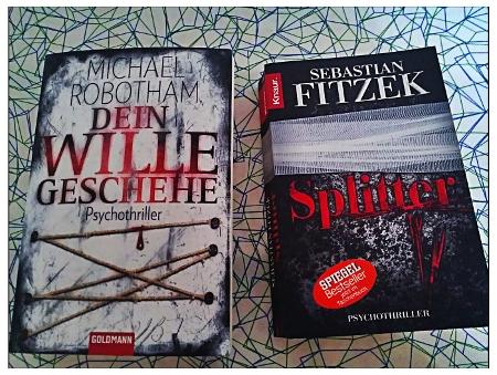 Sebastian Fitzek Splitter und Michael Robotham Dein Wille geschehe