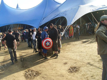 Captain America @ Hellfest 2012, France