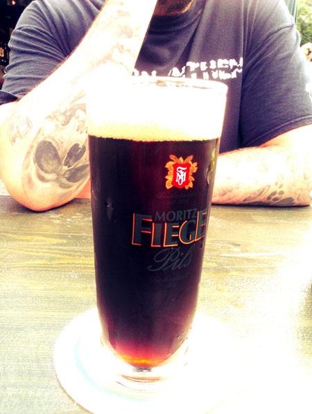Schwarzbier mit Cola von Moritz Fiege.