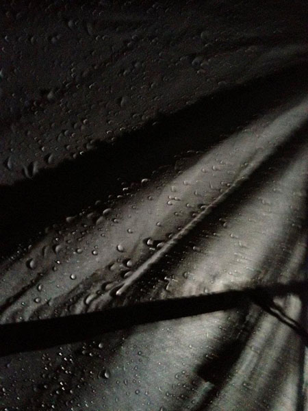 Regen im Zelt @ Hellfest 2012, France