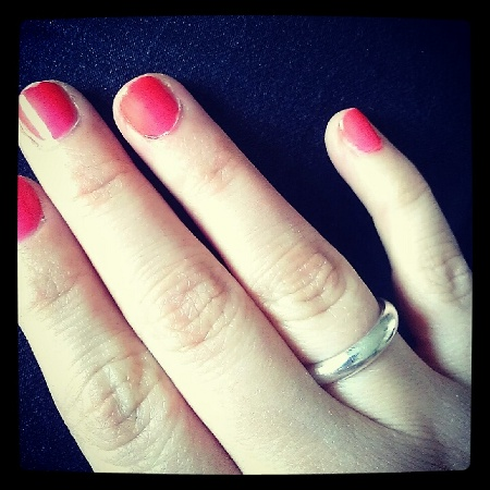 Dior Paradise Nagellack Neon Pink