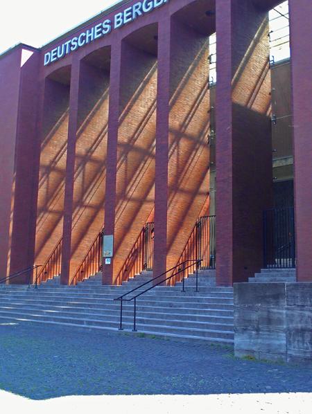 Eingang zum Bergbau-Museum Bochum