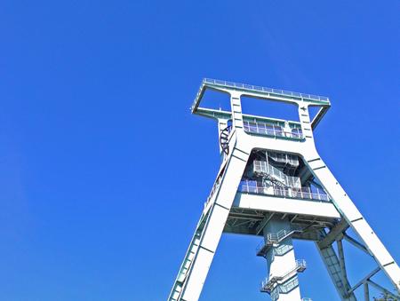 Förderturm des Bergbau-Museums in Bochum