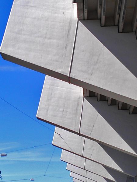 Architektur des Bochumer Ruhrstadions