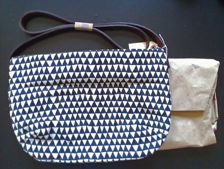 triangle day bag from bookhou