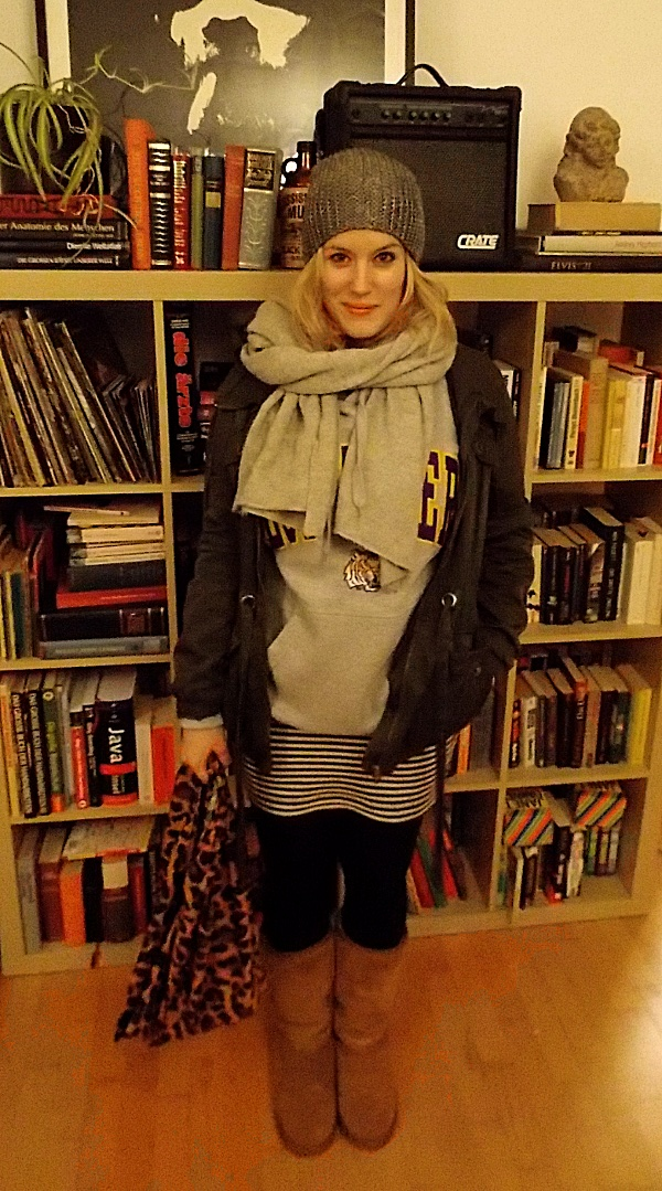 Ellen im warmen Winter Outfit
